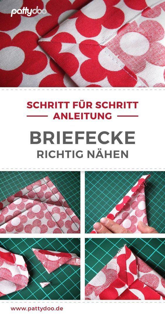 Photo of Briefecke nähen lernen