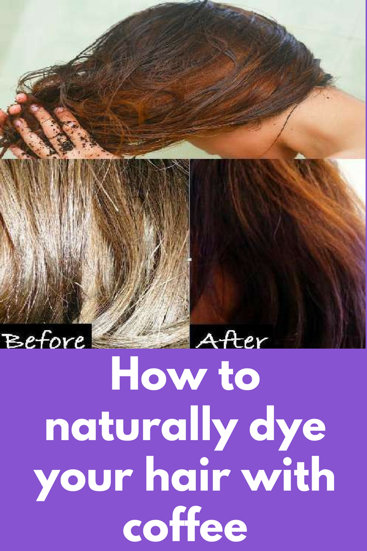 How To Naturally Dye Your Hair With Coffee For All Hair Types