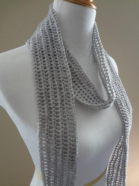Fiber Flux...Adventures in Stitching: Free Crochet Pattern...Silver ...