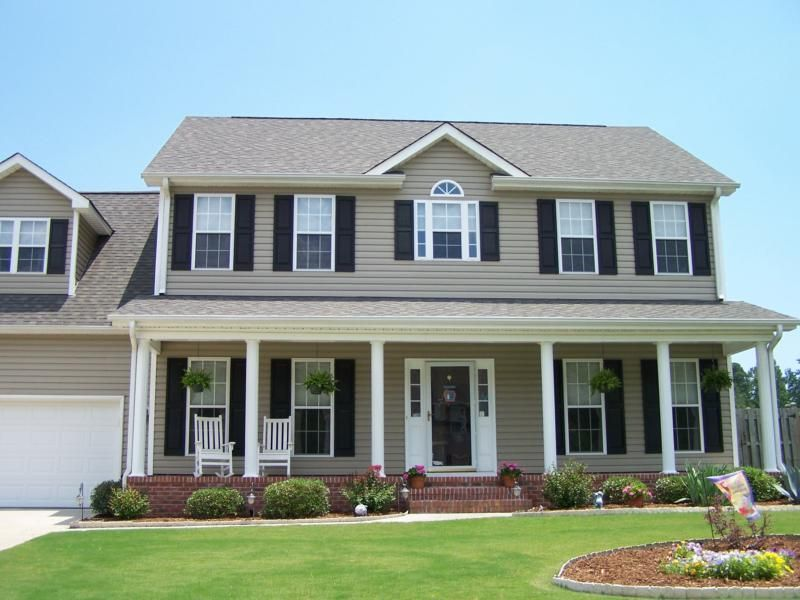 Emerald Forest Neighborhood Home Wilmington Nc Colonial House Exteriors Colonial House Plans Colonial Style Homes