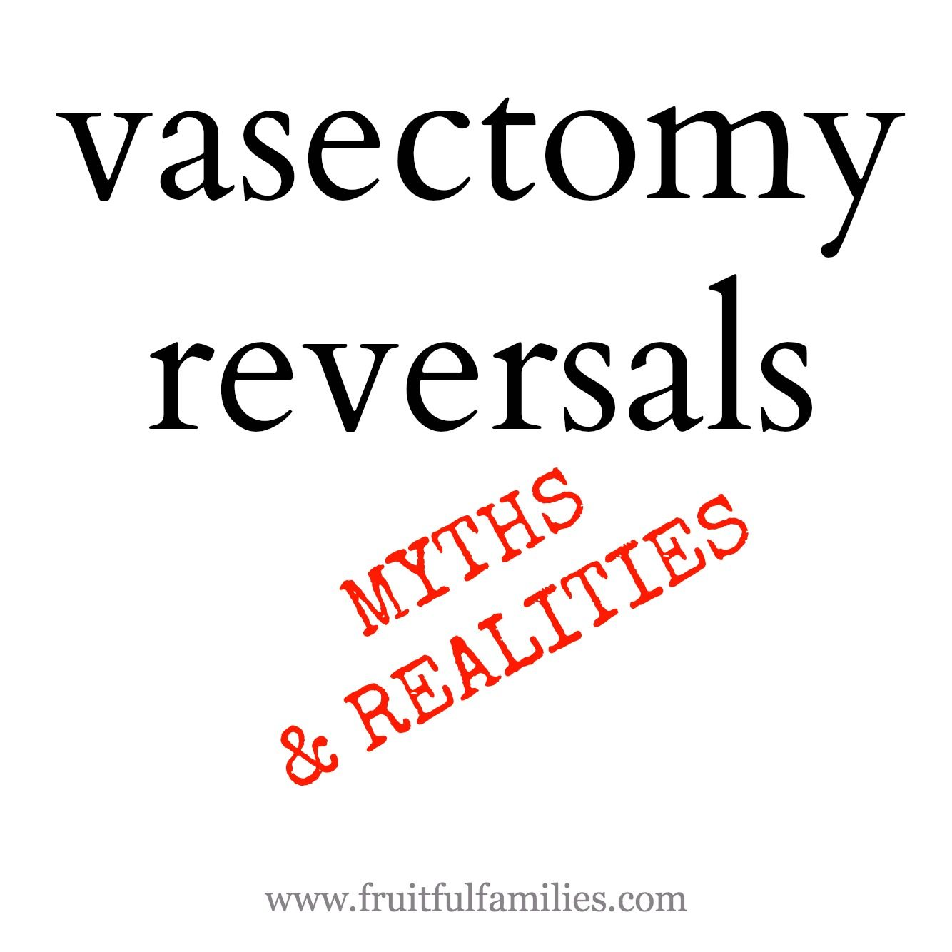 Male infertility: myths and reality