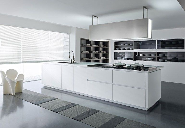 Cucine Moderne Con Isola Economiche.Cucine Moderne Con Isola O Ad Angolo Bianche Ed Economiche