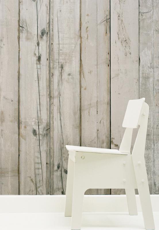Jannelli e Volpi - wallpaper that looks like barn wood? | Bathroom ...