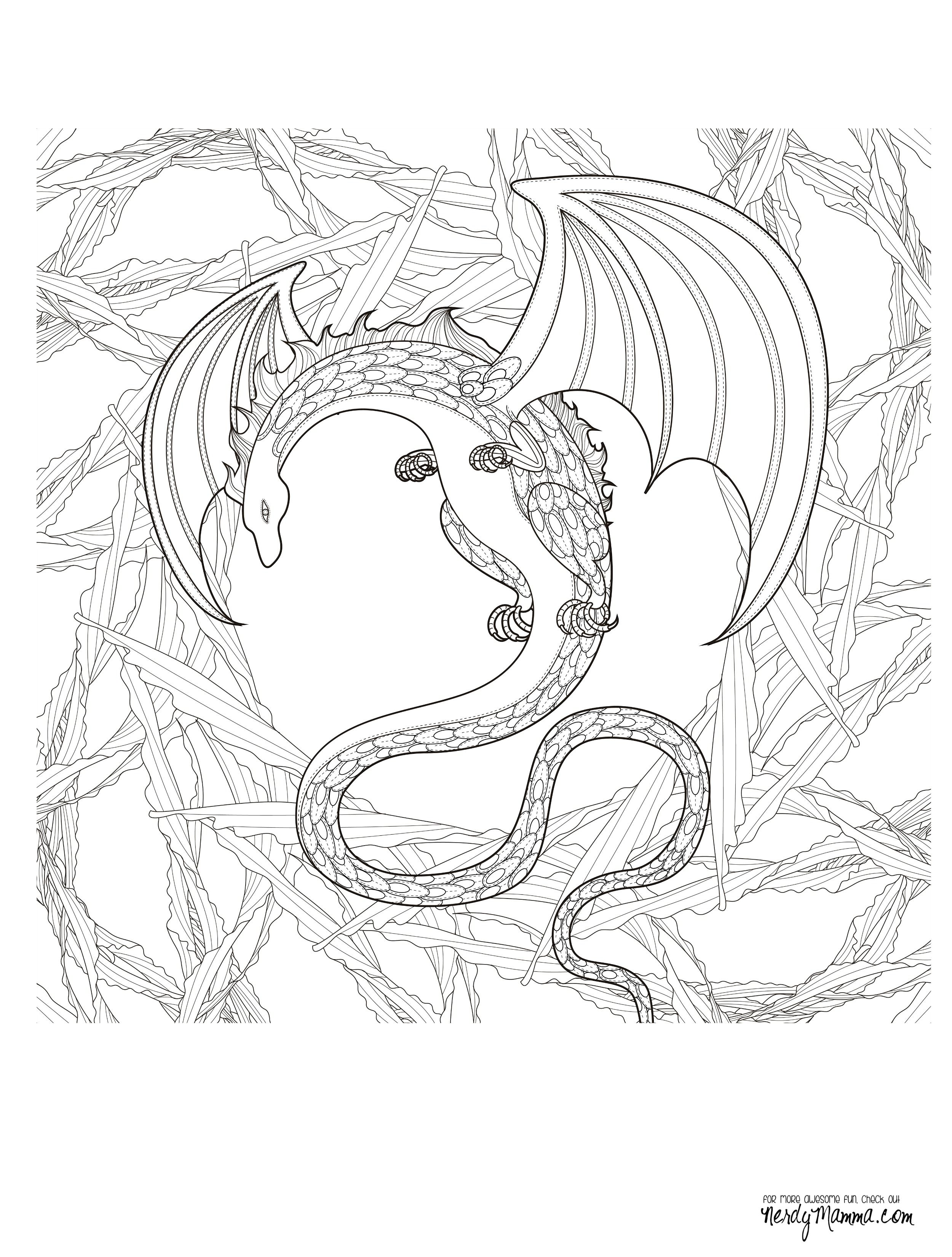 final dragon coloring page pic | coloring pages | Pinterest ...