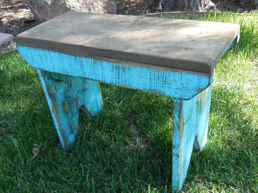 Surprising Primitive Bench Distressed Bench Farm Table Wooden Bench Bralicious Painted Fabric Chair Ideas Braliciousco