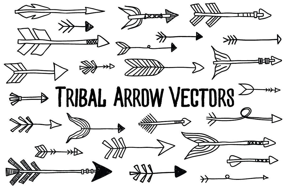 Tribal Arrow Vectors Tribal Arrows Arrow Svg Tribal