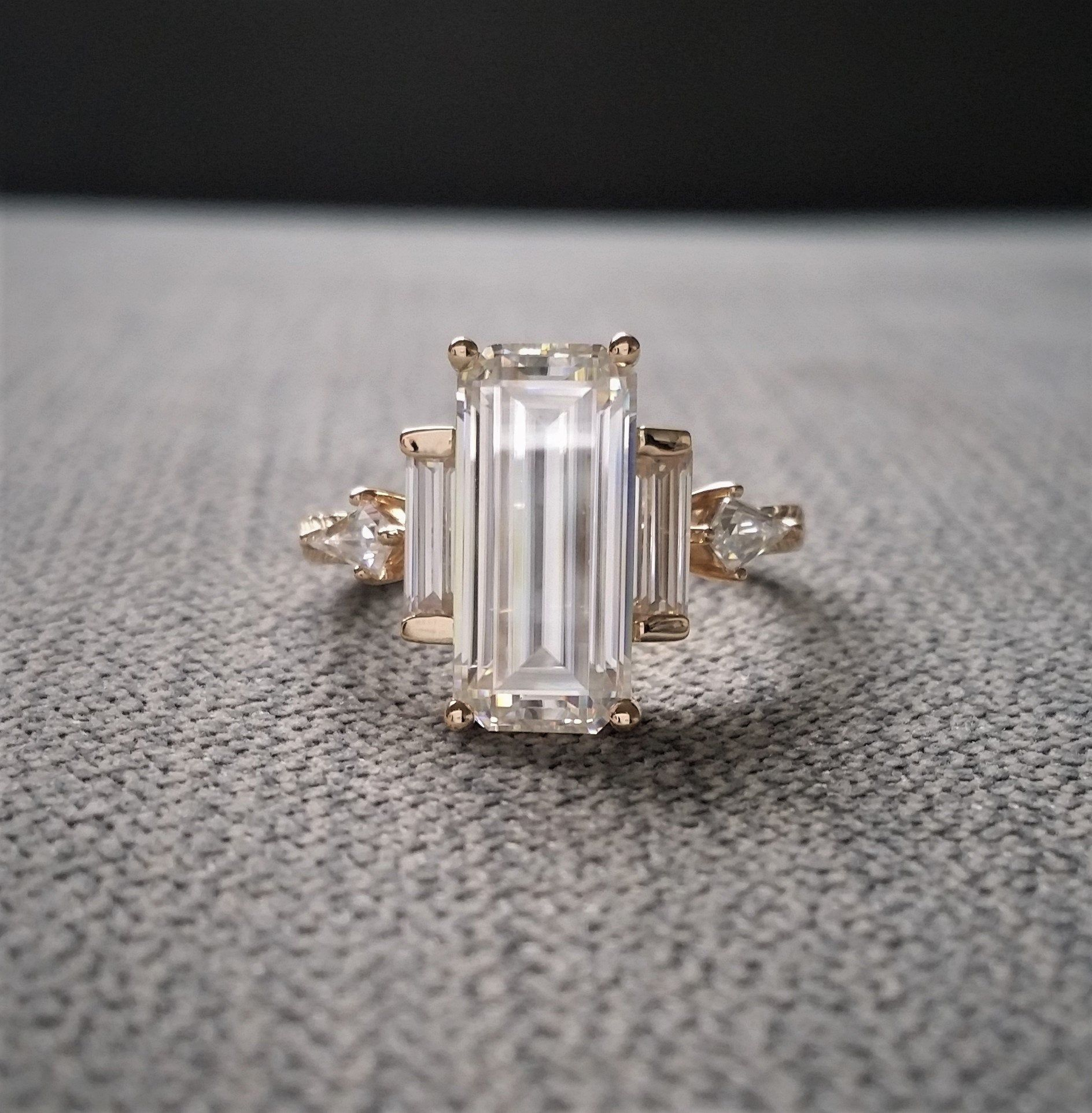 9.30 TCW Marquise-Cut Cubic Zirconia Silvertone Cluster Ring