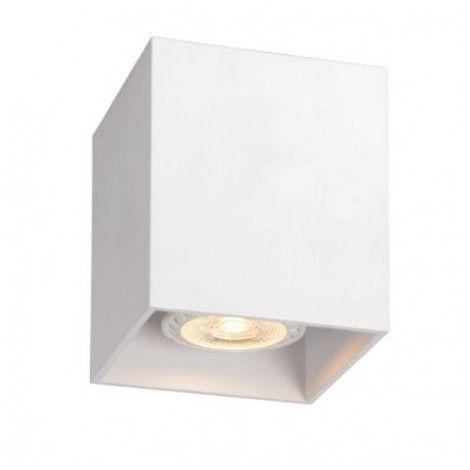 Lucide 09101 01 31 Bodi Plafonnier Carre Blanc Gu10 8 2 X 9 5 Cm Zf2944253 09101 01 31 Plafonnier Design Plafonnier Luminaire Plafonnier