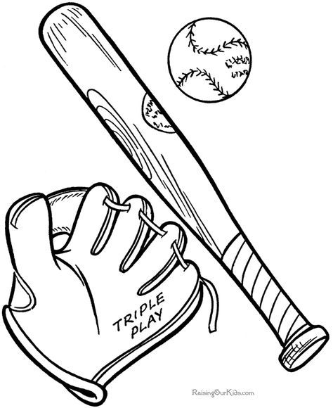 Baseball Coloring Pages To Print 008 Baseball Coloring Pages Sports Coloring Pages Bat Coloring Pages