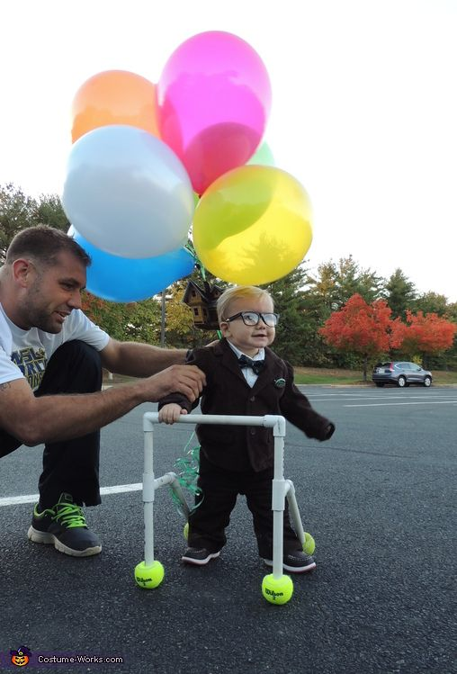 This homemade costume for babies entered our 2013 Halloween Costume Contest.  sc 1 st  Pinterest & Carl from the movie Up - Halloween Costume Contest at Costume-Works ...