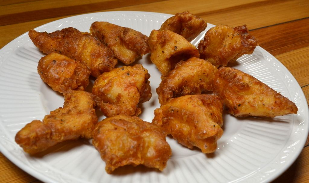 BatterFried Chicken Nuggets with Homemade BBQ Dipping