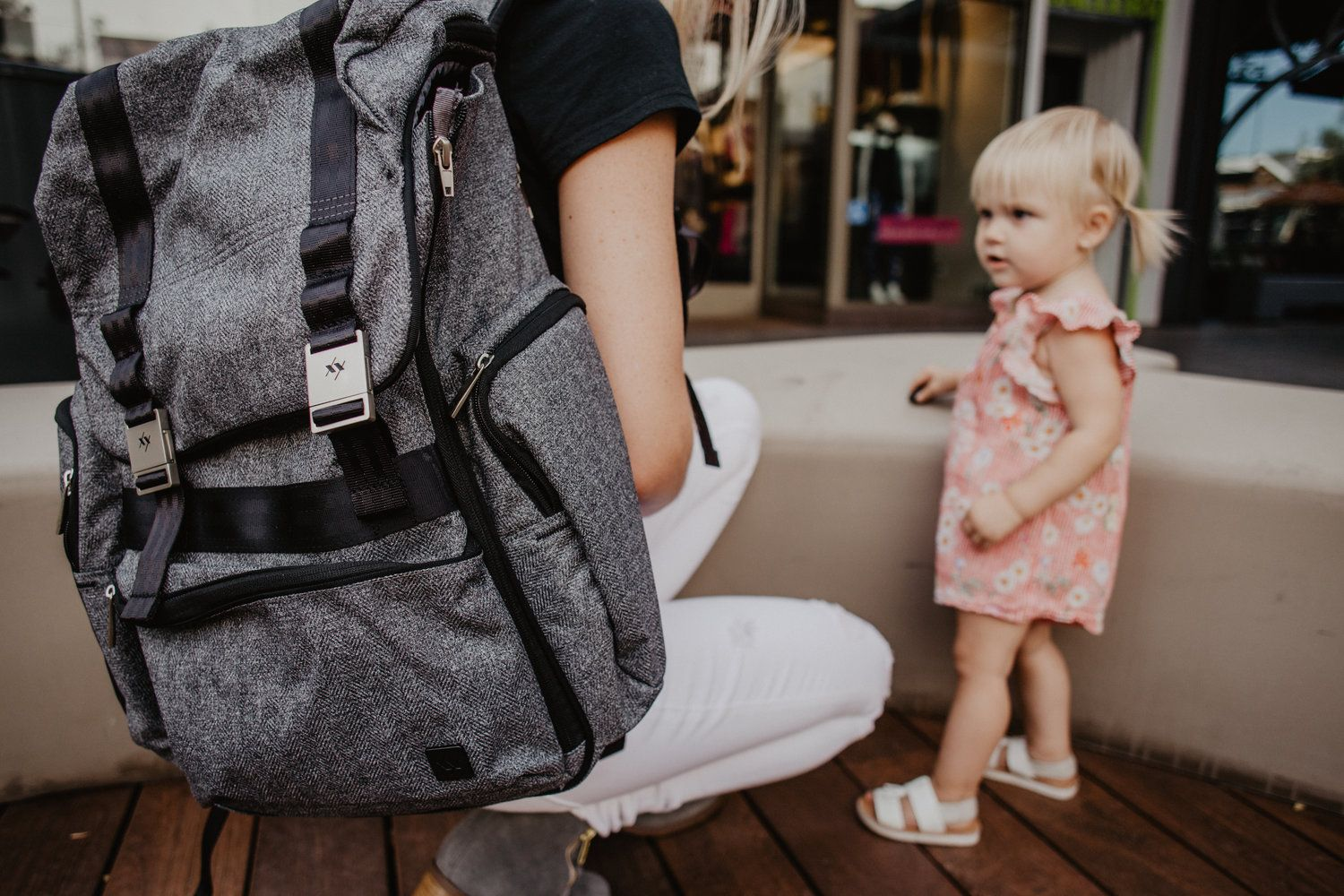 Ju Be Xy Collection Hatch Gray Matter Trendy Diaper Bags For Dads