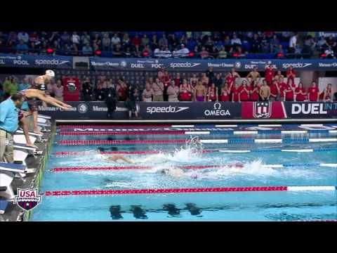 2015 mutual of omaha duel in the pool 400 freestyle relay women - Olympic Swimming Pool 2015