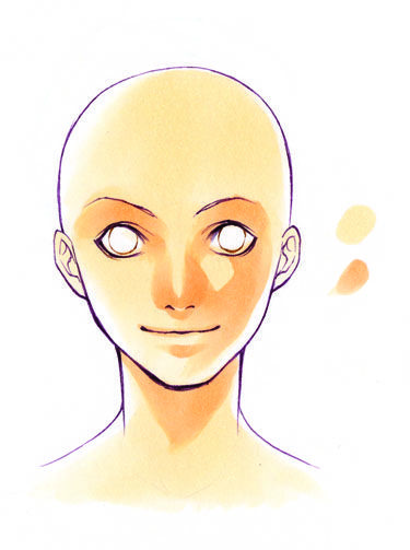 Shaded Anime Face Google Search Risovanie Lic Teni Lico
