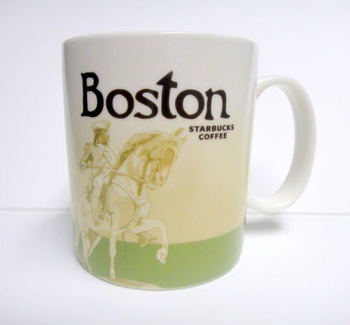 Starbucks Boston City Collection Coffee Mug Ceramic Dishwasher And Microwave Safe Discontinued No Longer Sold By