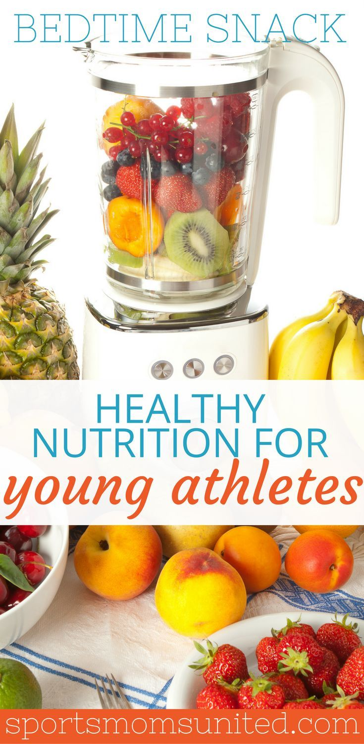 A Bedtime Snack: Could This Help Your Athlete? - Sports Moms United