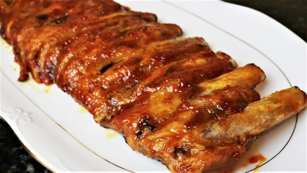 Como Hacer Las Costillas Del Foster Pin En Recetas D Carne Y Cerdo