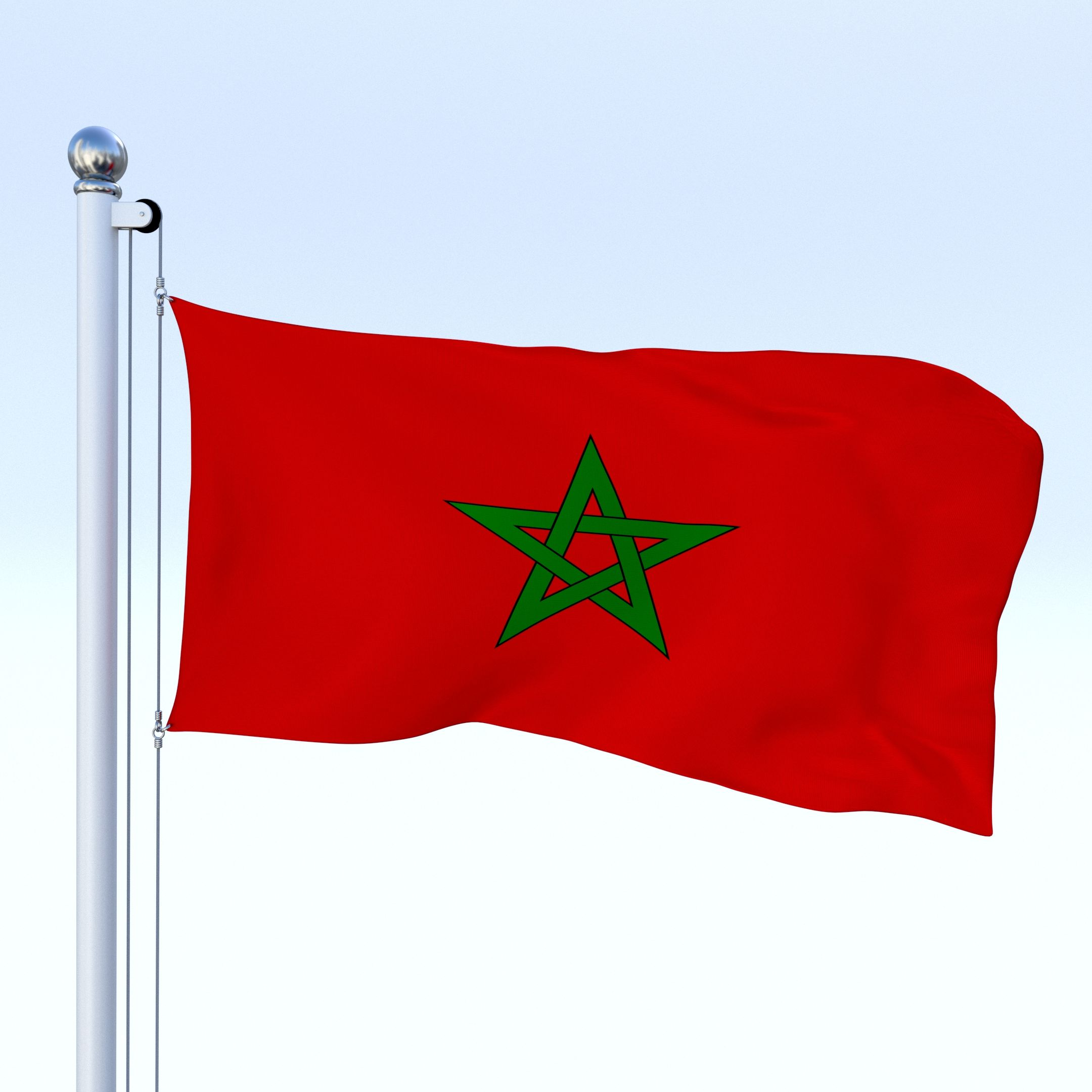 Animated Morocco Flag Morocco Flag Flag Animation