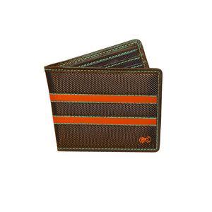 RFID Block Wallet Brown Orange, $35,  by Würkin Stiffs RFID-Blocking Wallets !!