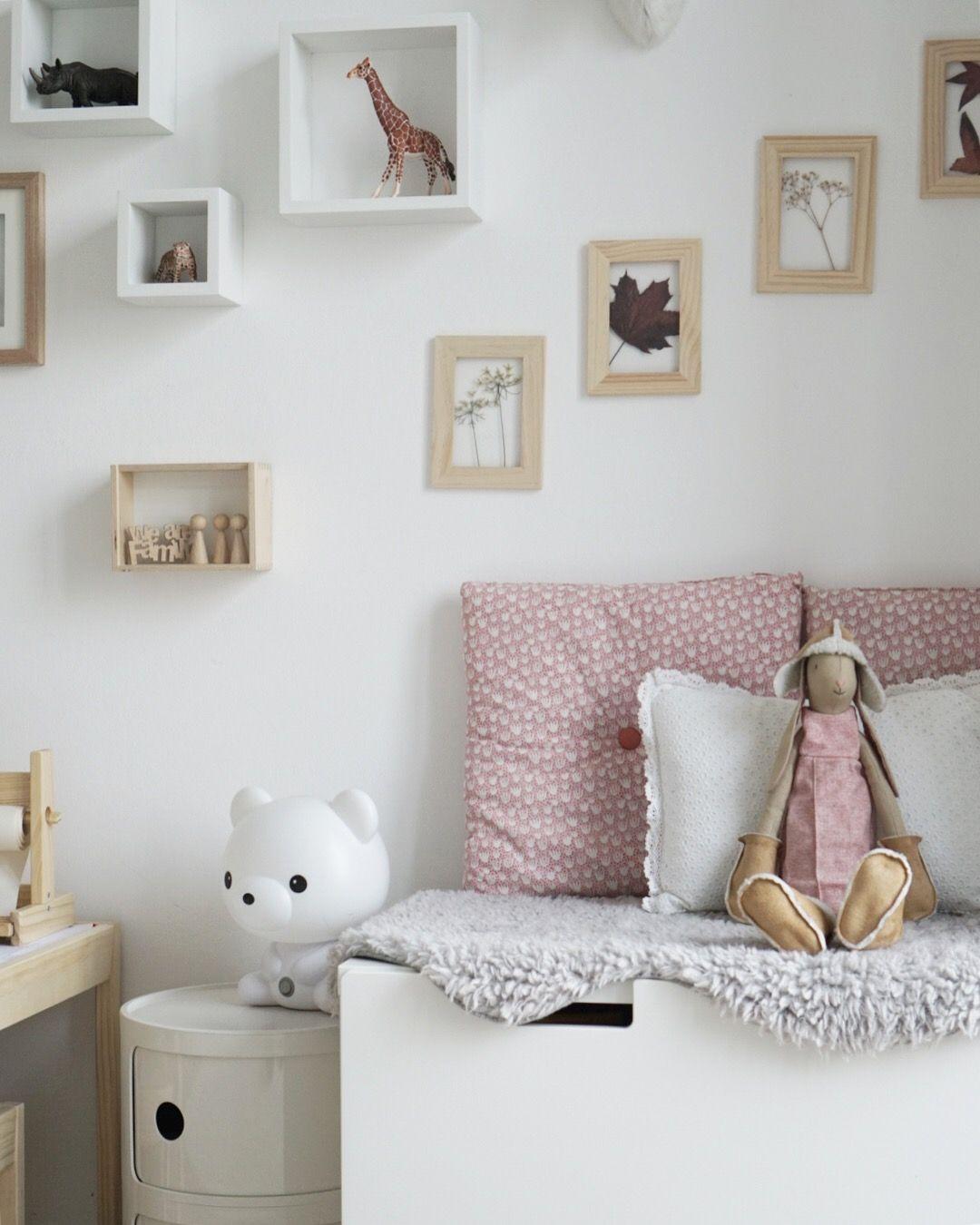 Kinderzimmer Mädchenzimmer stuva Ikea Deko
