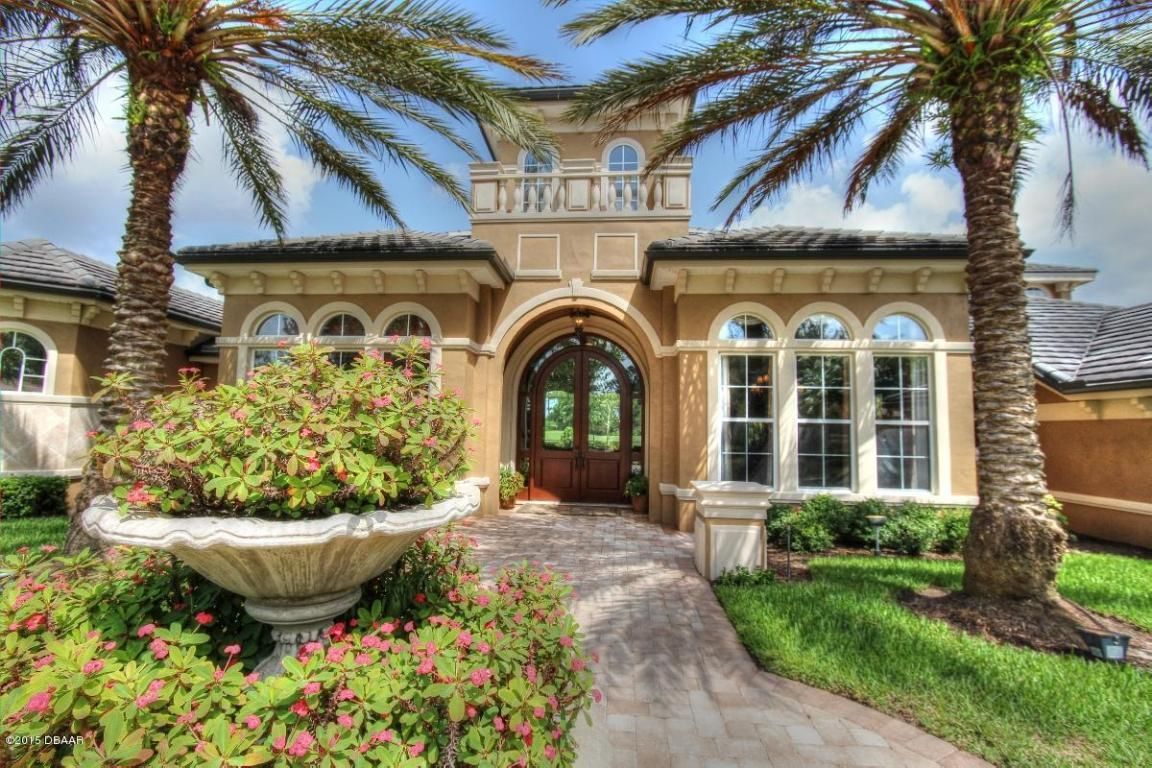 Upscale, Estate Home In Gated, Golf Community Ormond