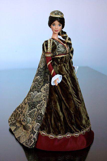 MEDIEVAL MAIDEN Doll Pattern  BARBIE  RARE
