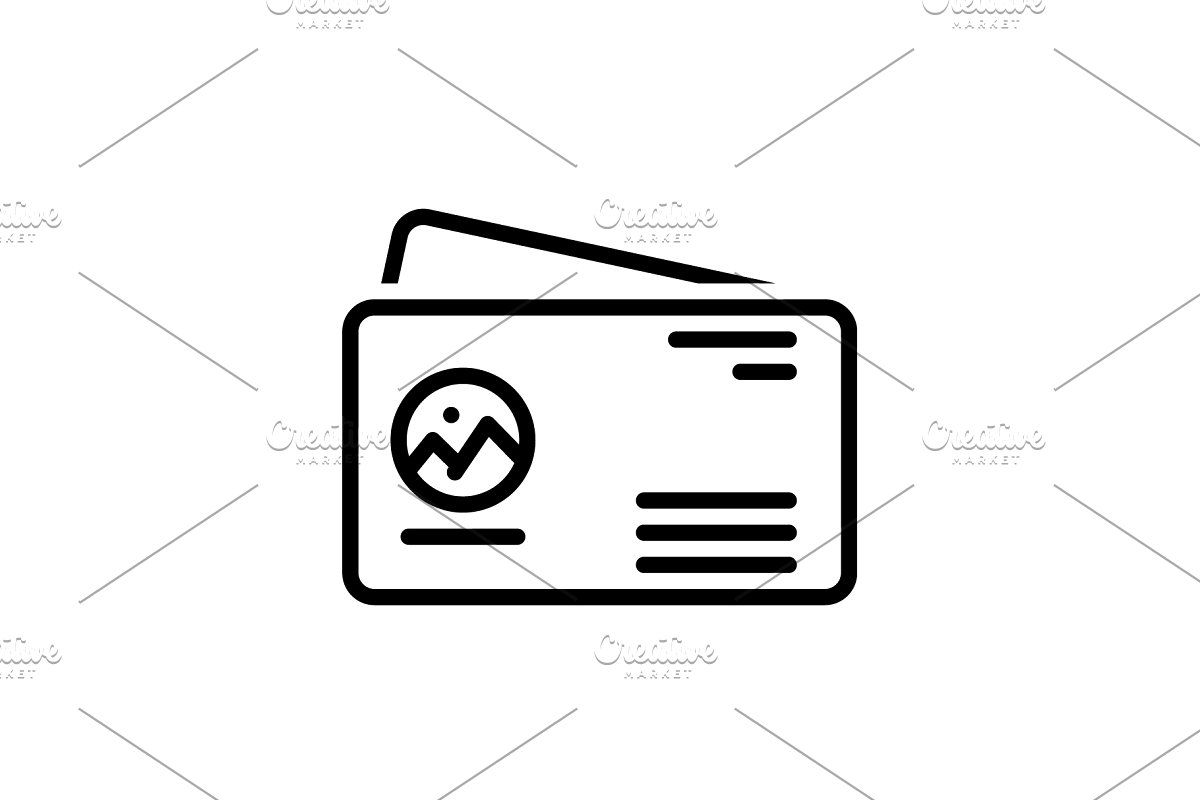 Business Card Icon In 2020 With Images Business Card Icons