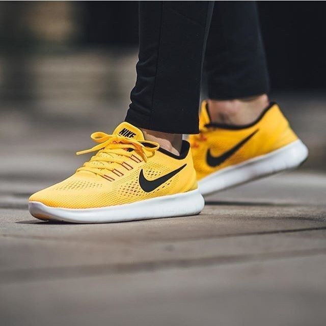 ad25ce146cb8 Nike wmns Free RN  Yellow