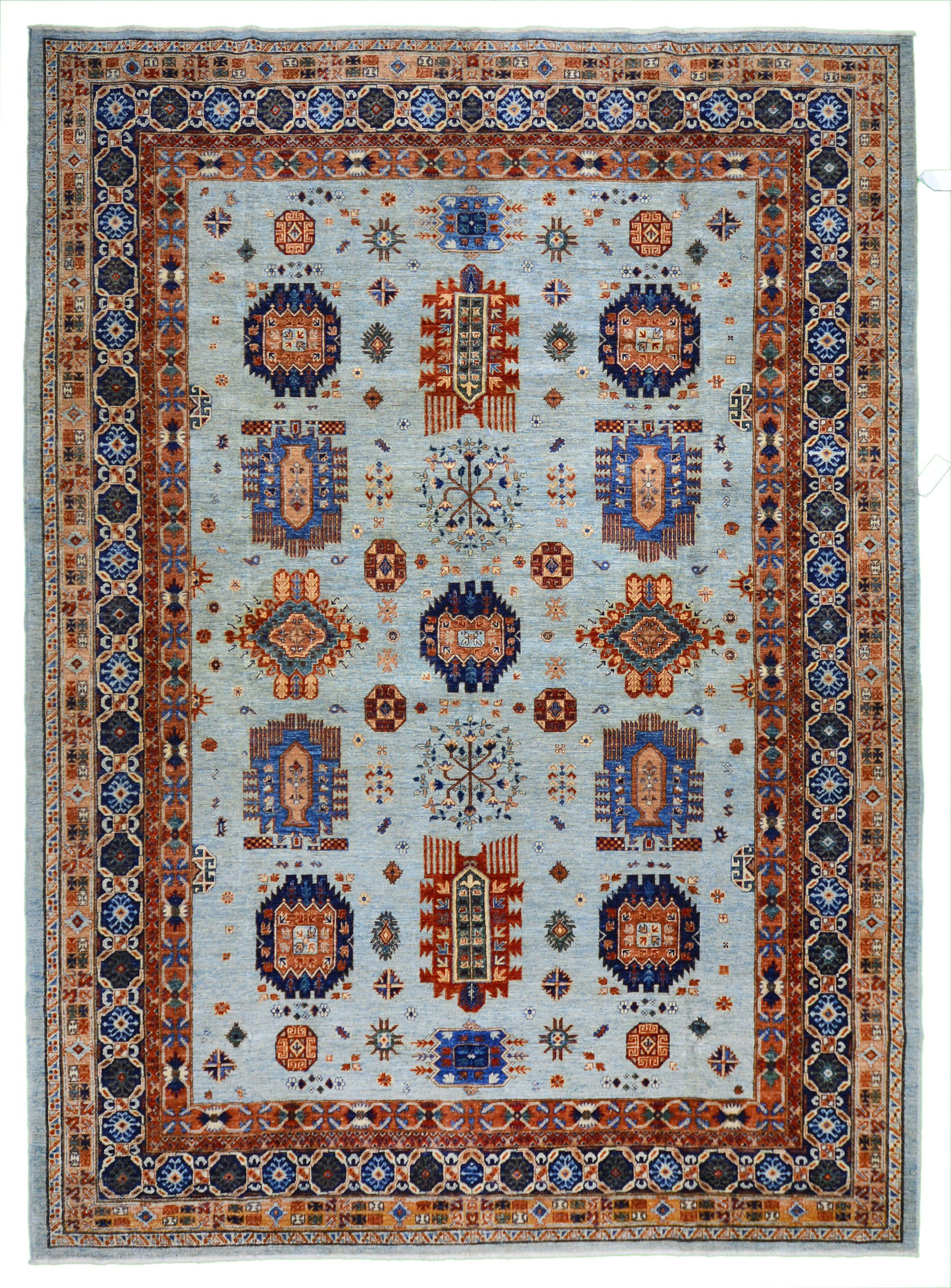 New Turkmen Esari Rug Design 2301 9 11 X 13 7 Rugs