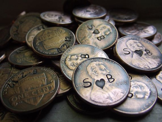Penny favors by patsdesign on Etsy, $50.00