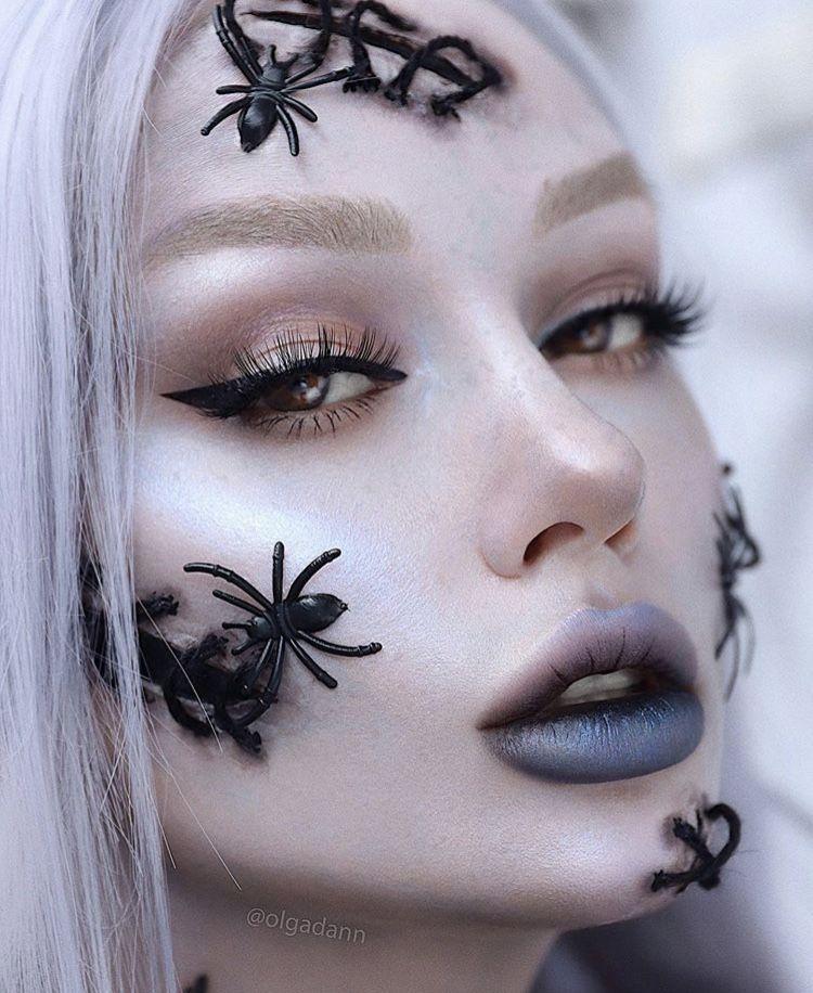 Halloween Makeup👻👻👻 (10/14/19) Halloween makeup, Makeup