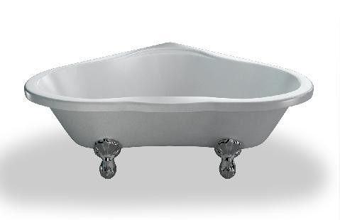 Bad Op Pootjes : Ksb heart klassiek vrijstaand bad op pootjes badkuip