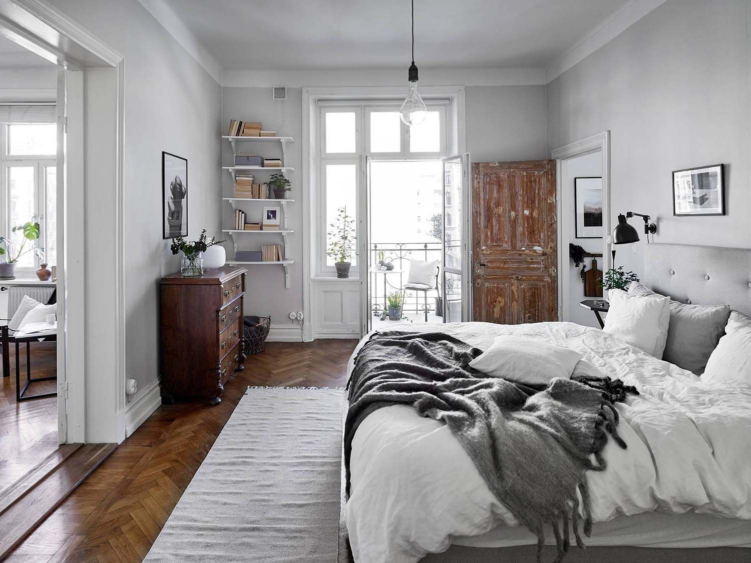 Skandinavische Inneneinrichtung 33 Ultra-cozy Bedroom Decorating Ideas For Winter Warmth