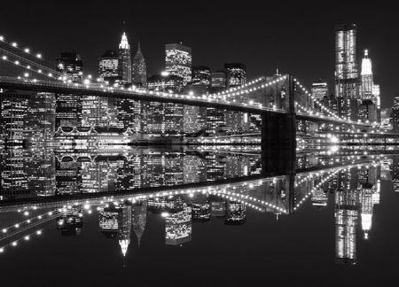 Wall Mural Wallpapers Cityscape New York Brooklyn Bridge Perth Sydney Wallpaper Vinilo Mural A New York Minute