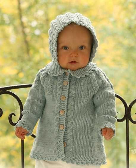 Todo Para Crear Abrigos Para Nios En Crochet Y Dos Agujas