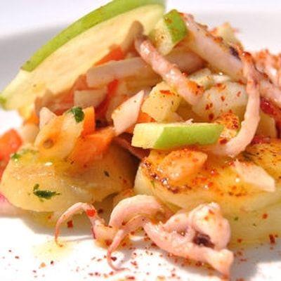 salade de pommes de terre aux encornets : 60 recettes pour un