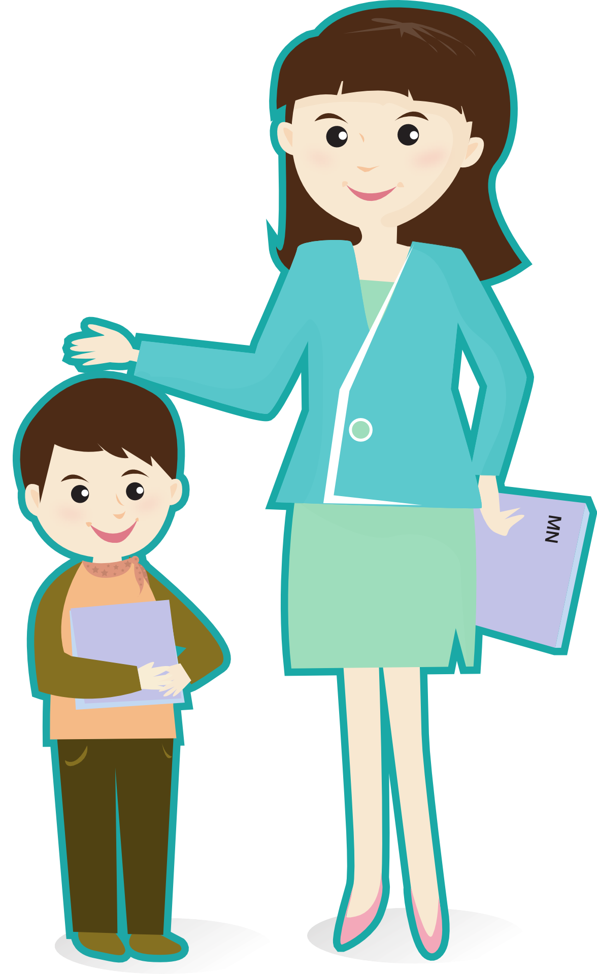 Image Result For Clip Art Student Following Teacher