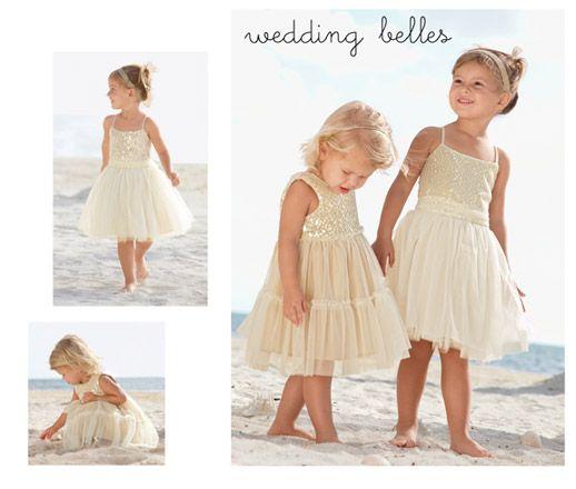Gold Dust Dress Beach Wedding For Flower S Or Junior Bridesmaids