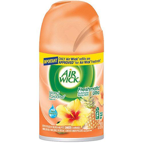 Air Wick Freshmatic Automatic Air Freshener Spray Island Paradise 1 Refill 6 17 Oz Walmart Com Air Wick Freshener Spray Air Wick Refill