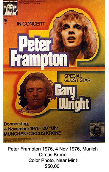 Peter Frampton, Gary Wright - Munich 1976