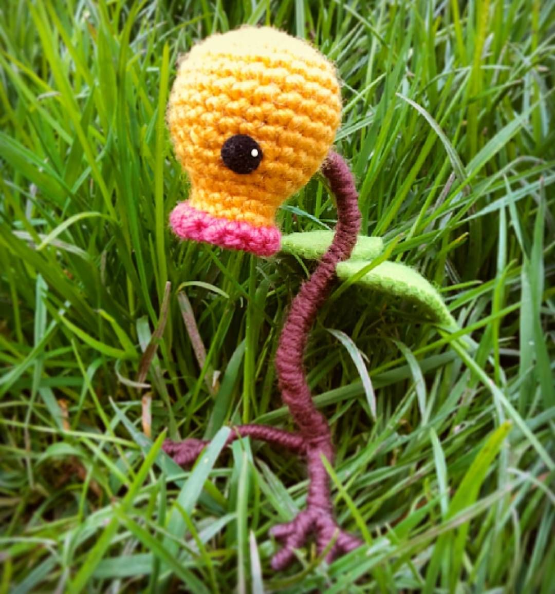 Bellsprout #häkelfigur #häkeln #crochet #crafted #handcrafted ...