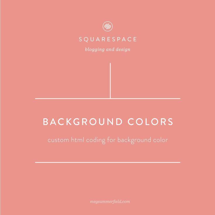 Background Color For Squarespace Textbox Custom Html Footer Design Web Design Tips Web Design