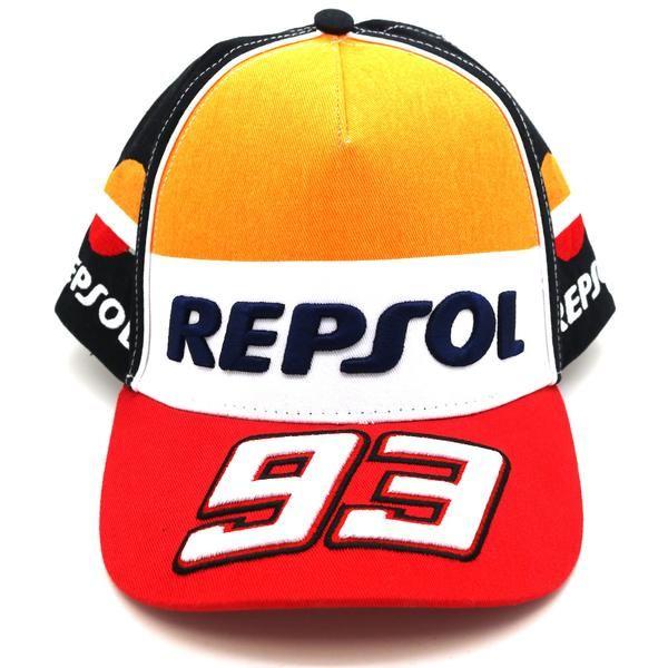 26076f6a18213 Honda Repsol Marc Marquez 93 Moto GP Baseball Cap Official 2017 ...