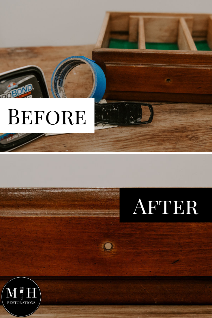 How To Fill Hardware Holes In Wooden Furniture