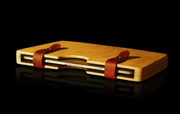 WOODEN LAPTOP CASE FOR MACBOOK AIR on Behance | Laptop accessory ...