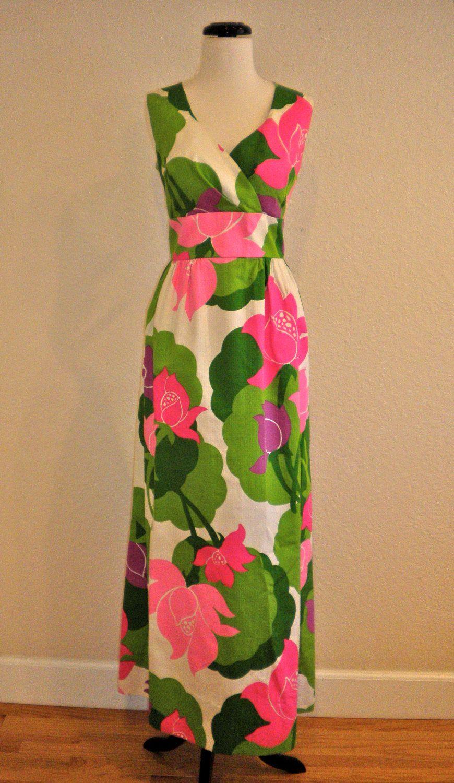 8c557cb767fb Vintage Menards Malia Honolulu Hawaiian Dress by AntoinettesCake, $75.00