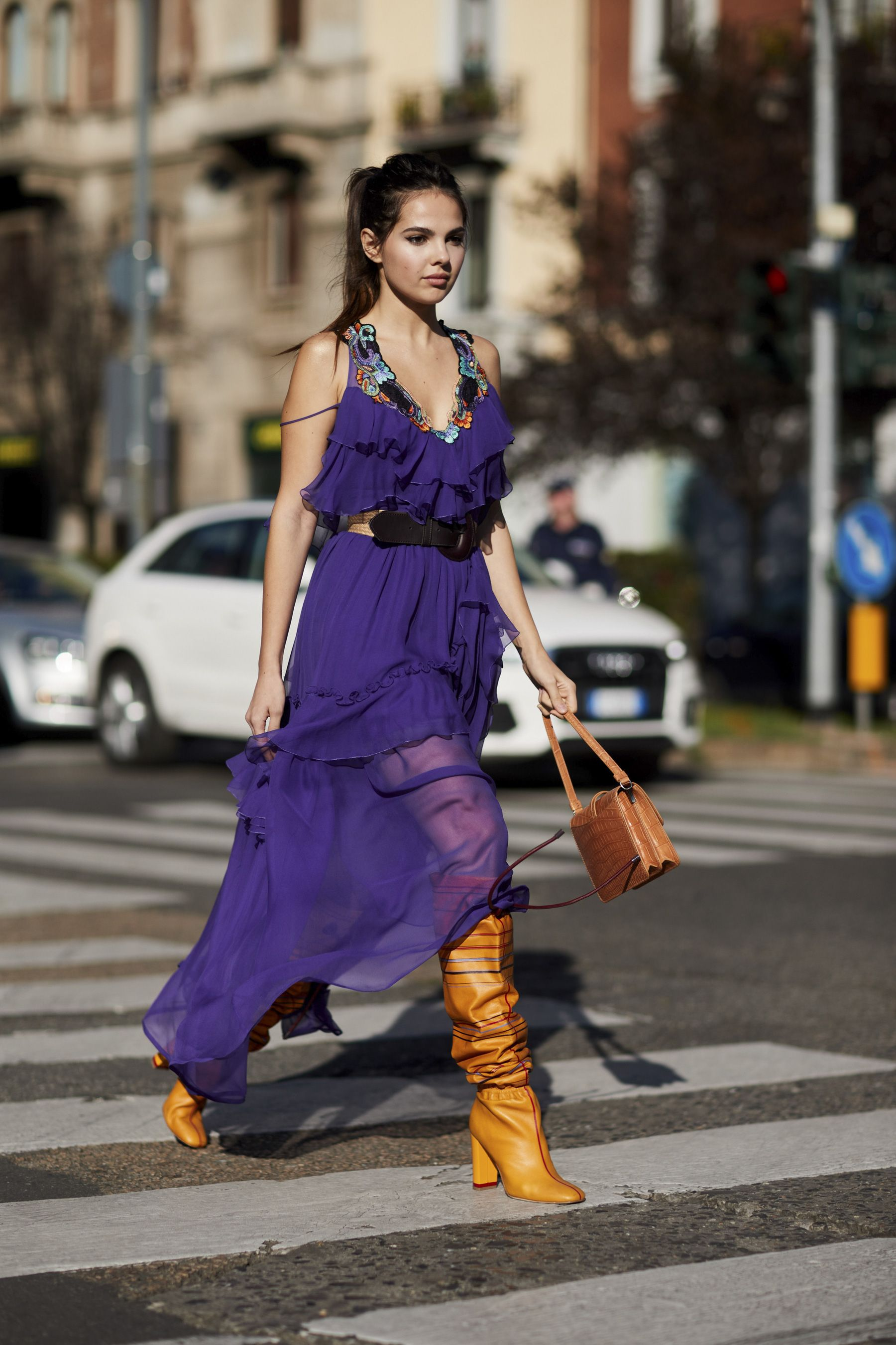 6cd8645d2e Milan Fashion Week Street Style Spring 2018 Day 1 Cont.
