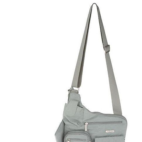 Sporty Messenger Style Shoulder Bag With Wristlet 17 33