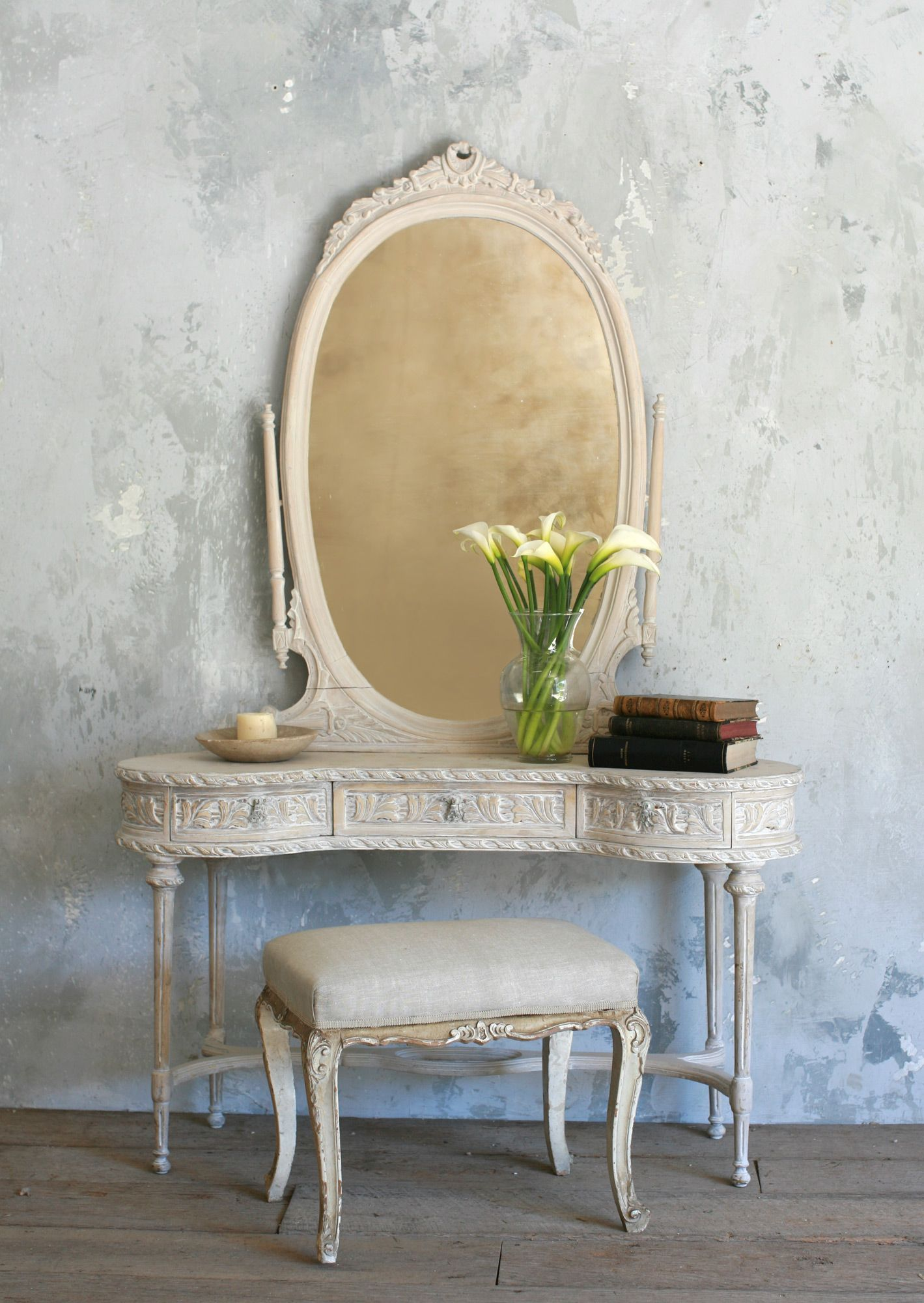 old vanity pictures | vintage vanity with mirror vav1504 beautiful ...