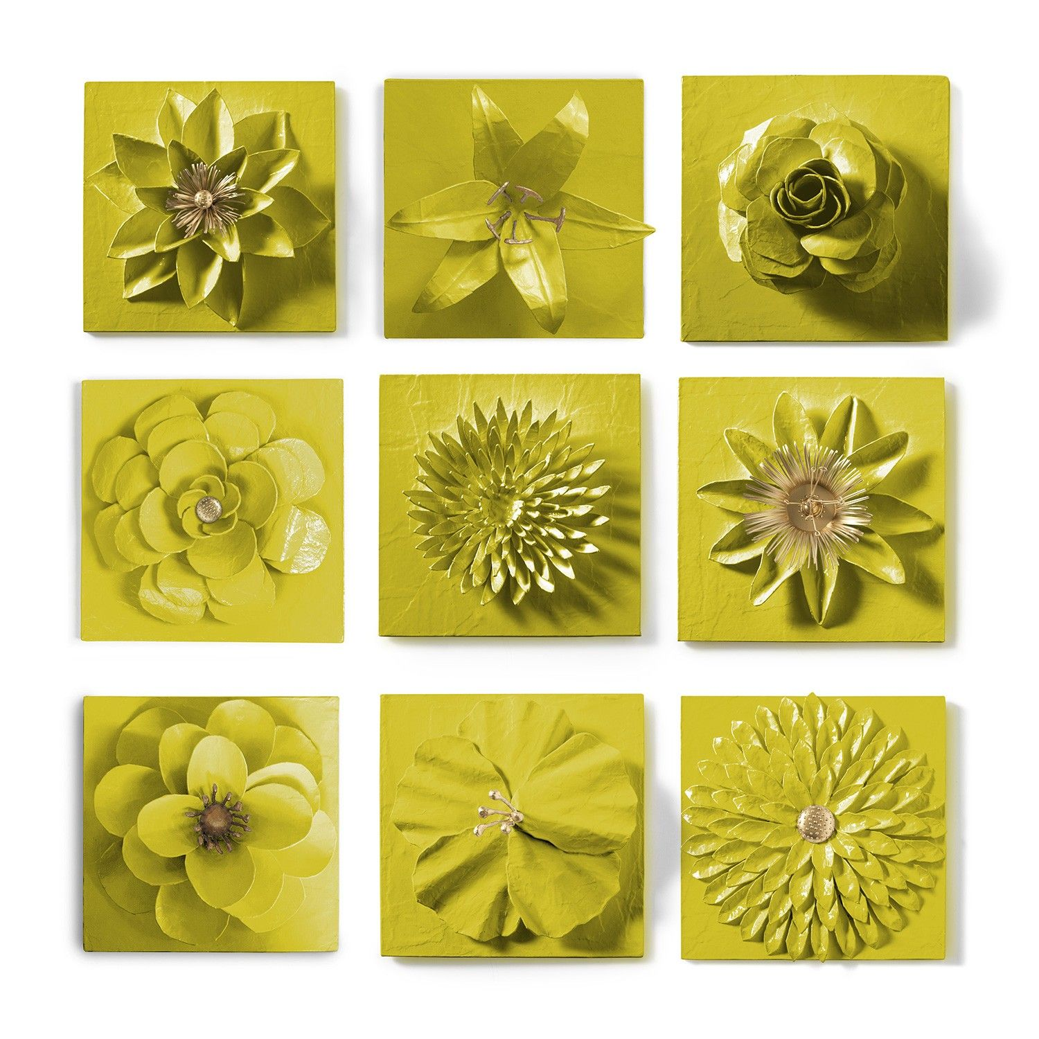 Flower Wall Tile Set | Flower wall, Wall tiles and Walls